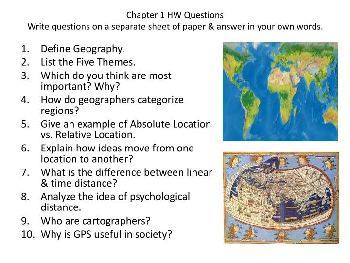 Ppt Chapter 1 Hw Questions Write Questions On A Separate Sheet Of