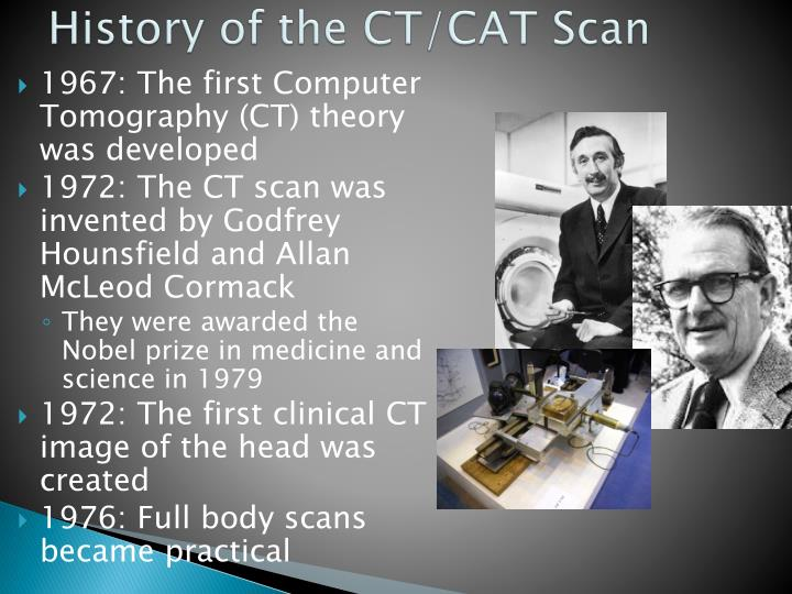 ct scan history ppt
