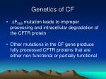 genetics of cf4