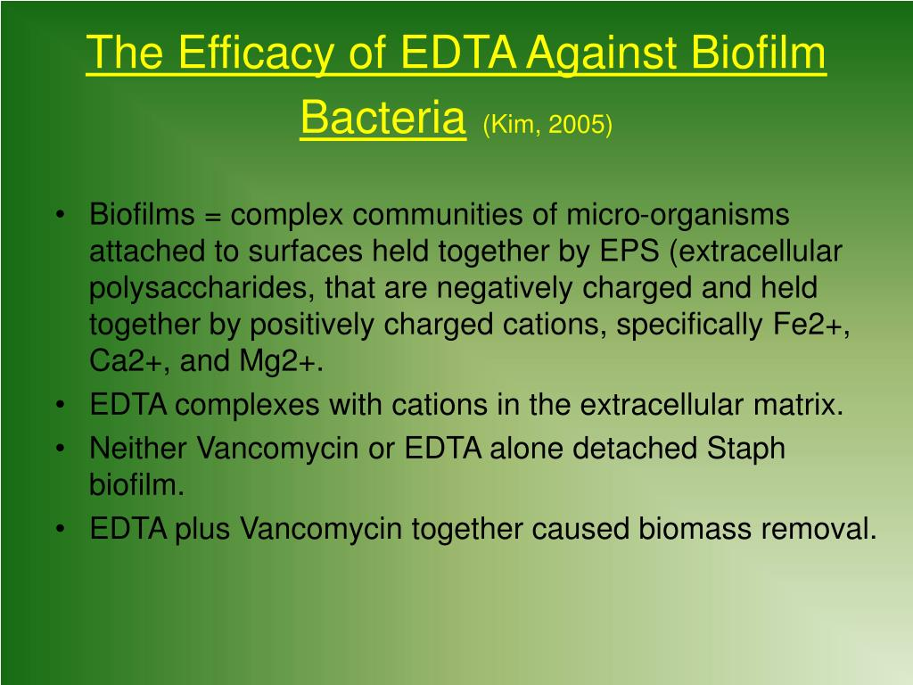 Biofilm Dissolving Enzymes