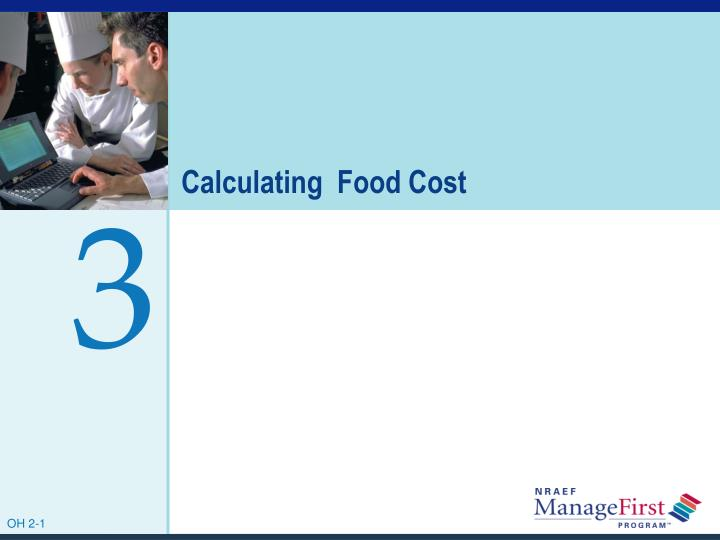 calculating food cost n.