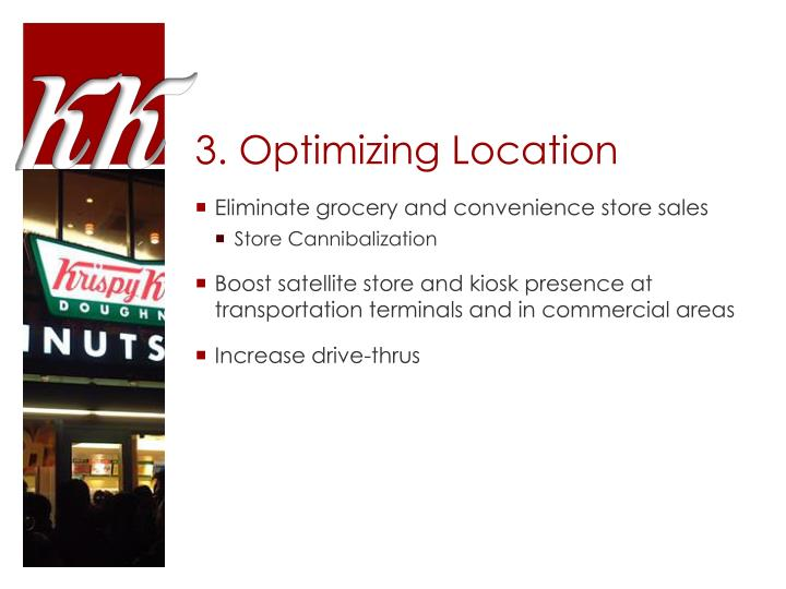 3. Optimizing Location