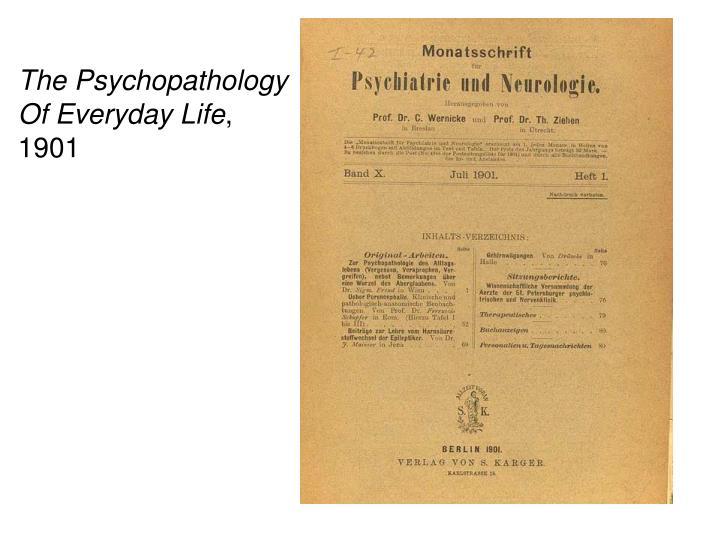 The Psychopathology