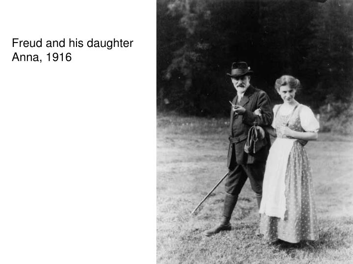 Freud and his daughter
