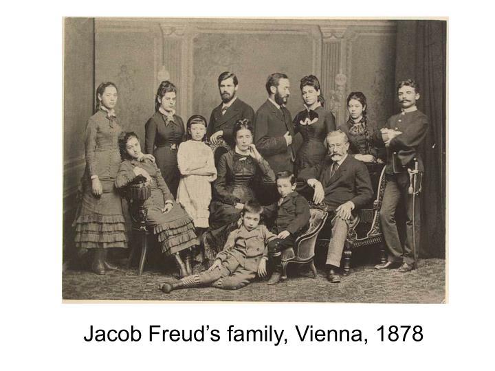 Jacob Freud's family, Vienna, 1878