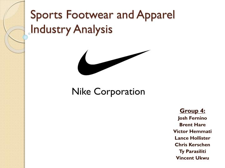 sports footwear and apparel i ndustry analysis n.
