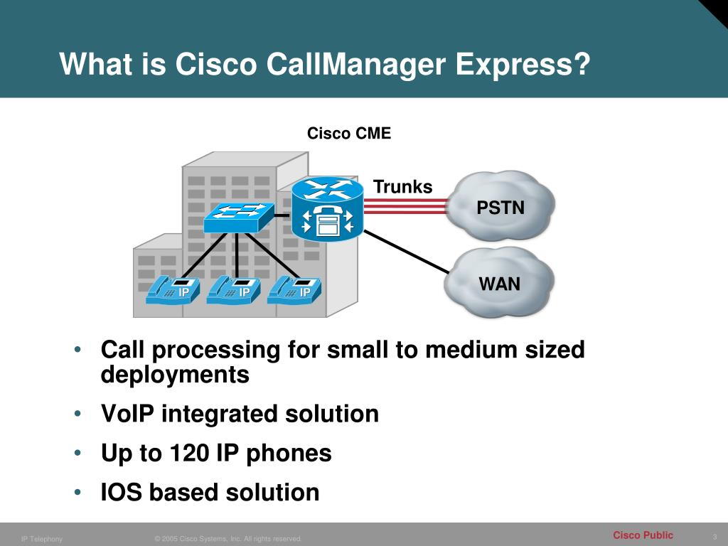 PPT - Configuring Cisco CallManager Express (CME) PowerPoint