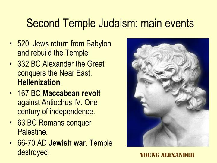 Second Temple Judaism: main events