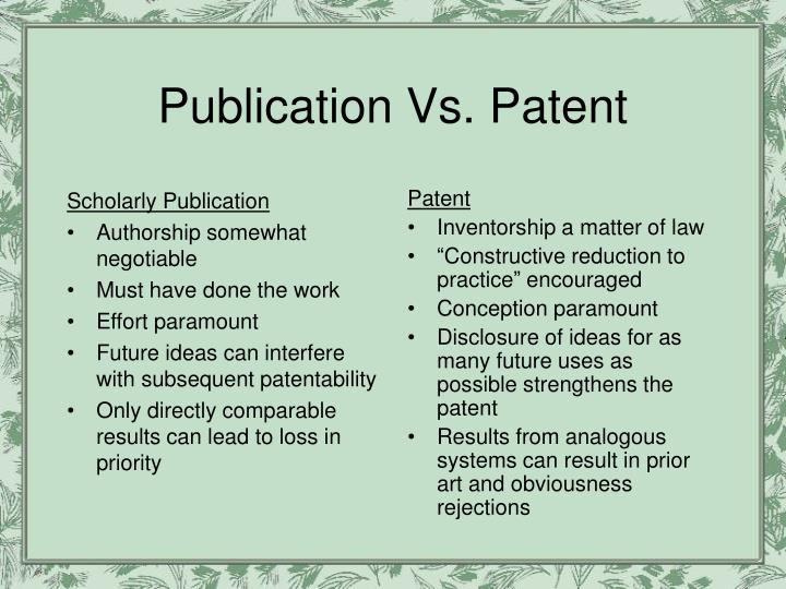 Scholarly Publication