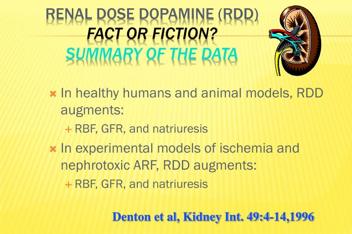 In healthy humans and animal models, RDD augments: