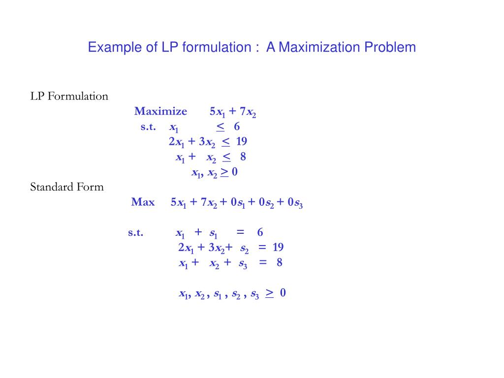 PPT - Linear Programming PowerPoint Presentation - ID:6597274