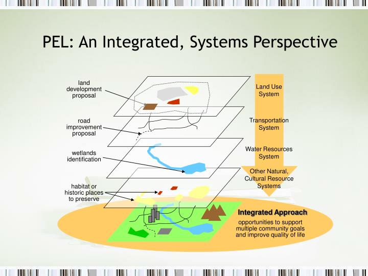 PEL: An Integrated, Systems Perspective