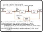 loop nomenclature