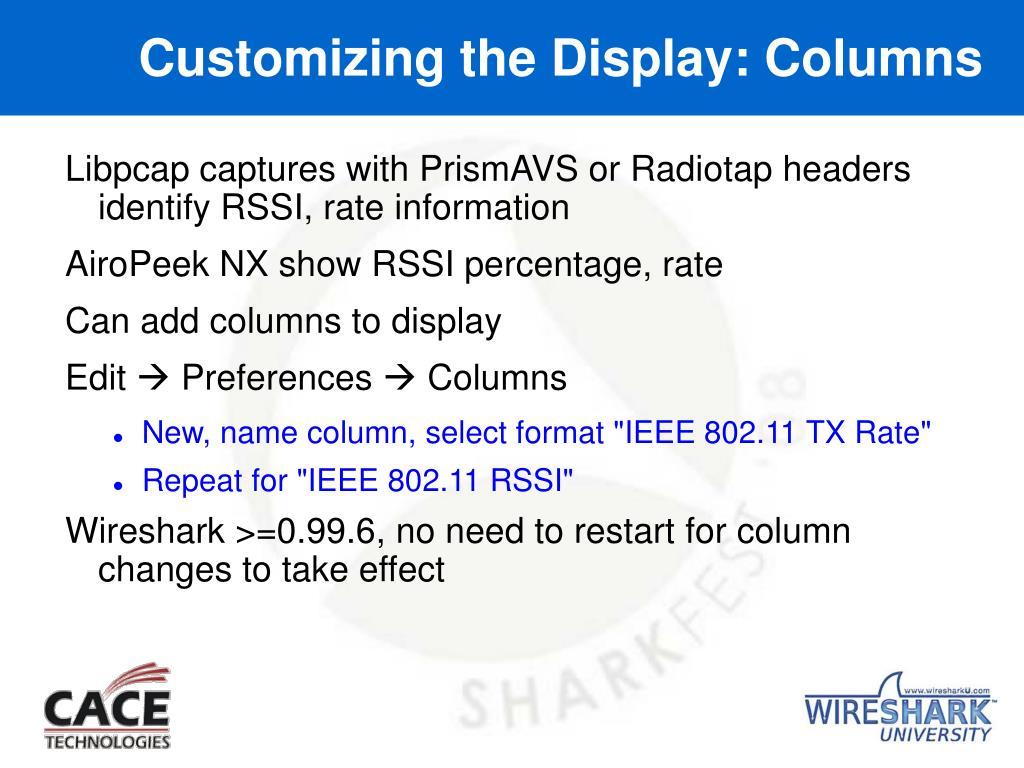 PPT - Leveraging Wireshark for Wireless Network Analysis 4/1/2008