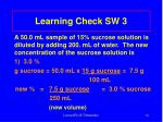 learning check sw 31