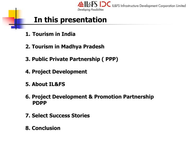 tourism in india conclusion