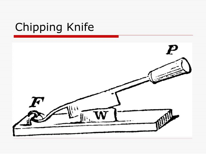 Chipping Knife
