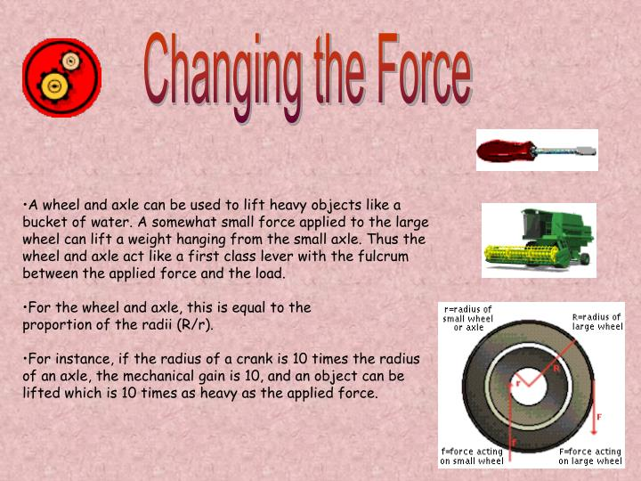 Changing the Force