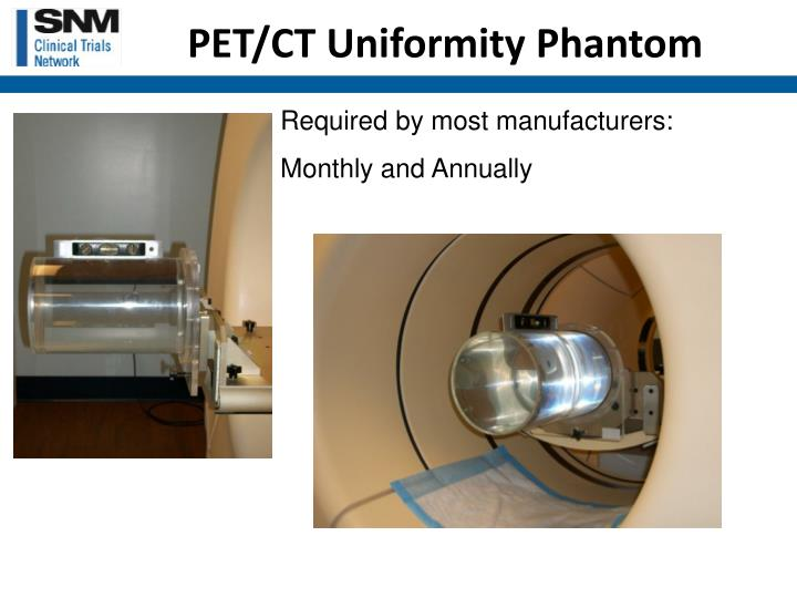 PET/CT Uniformity Phantom