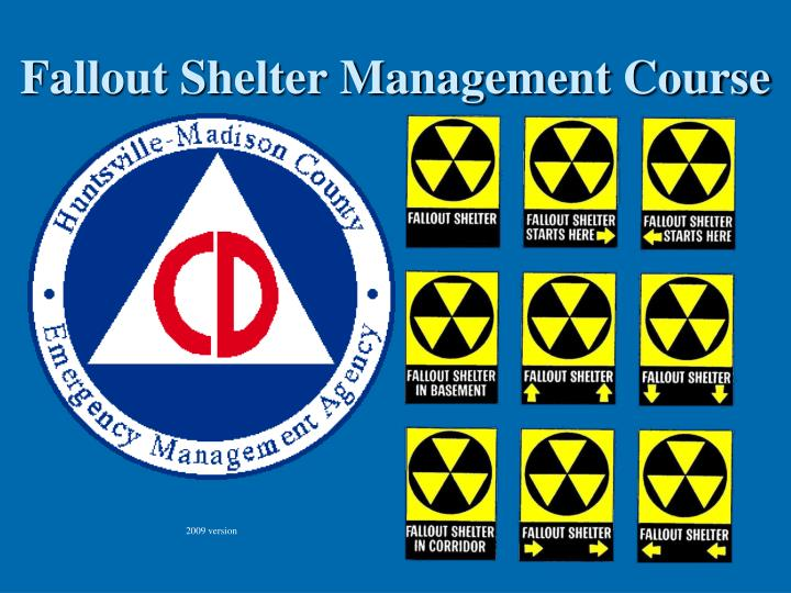 fallout shelter management course n.