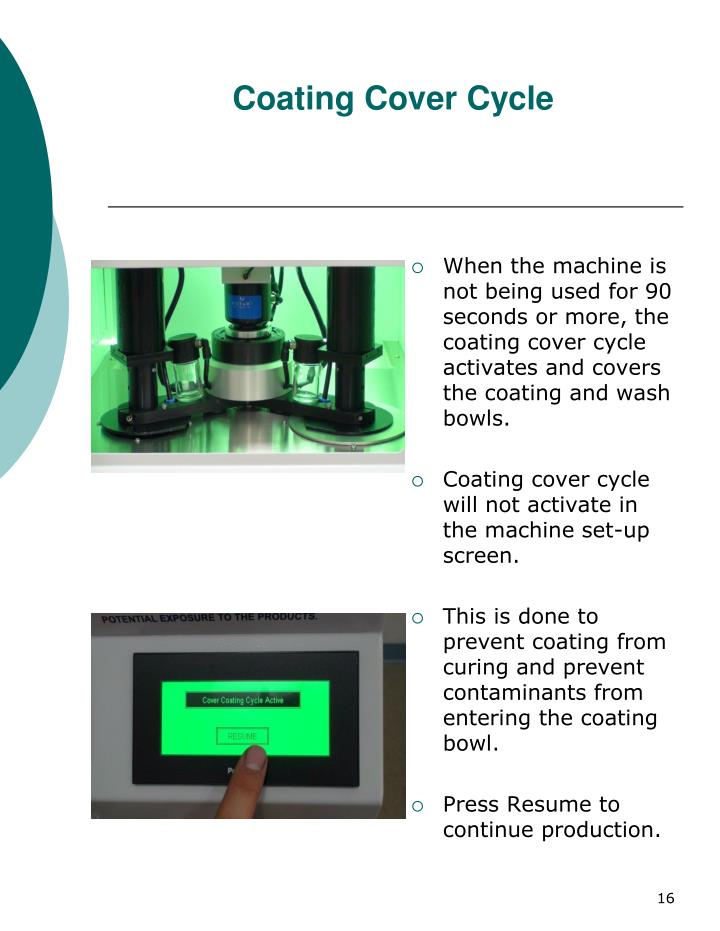 Coating Cover Cycle