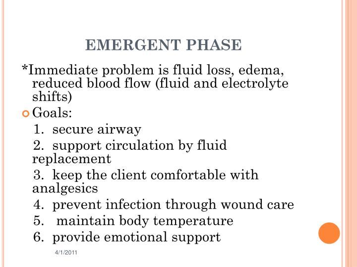 EMERGENT PHASE