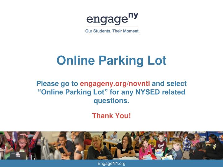 Online Parking Lot