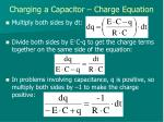 charging a capacitor charge equation2