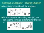 charging a capacitor charge equation5