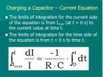 charging a capacitor current equation2