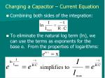 charging a capacitor current equation4