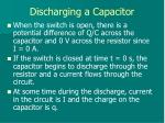 discharging a capacitor1