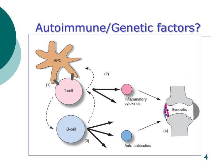 Autoimmune/Genetic factors?