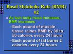 basal metabolic rate bmr 2