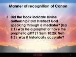 manner of recognition of canon1