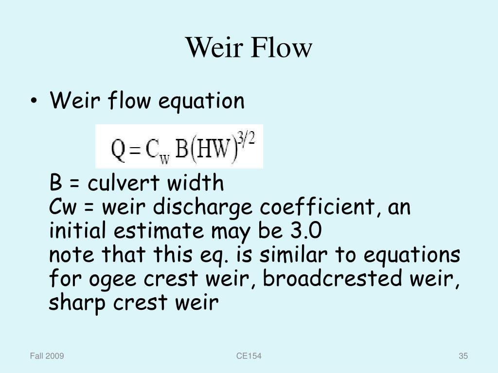 PPT - Design of Culverts PowerPoint Presentation - ID:6599658