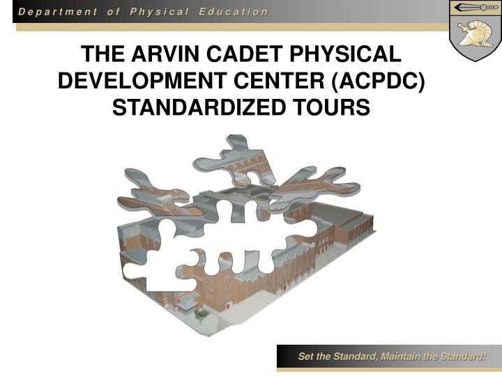THE ARVIN CADET PHYSICAL