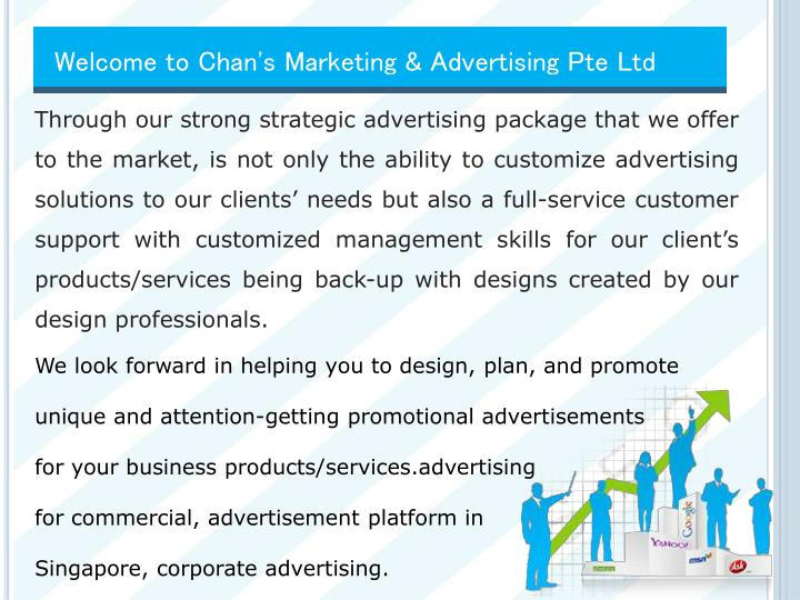 Welcome to Chan's Marketing & Advertising
