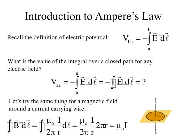 Introduction to Ampere's Law