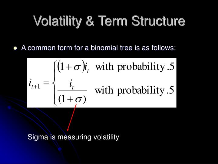 Volatility & Term Structure