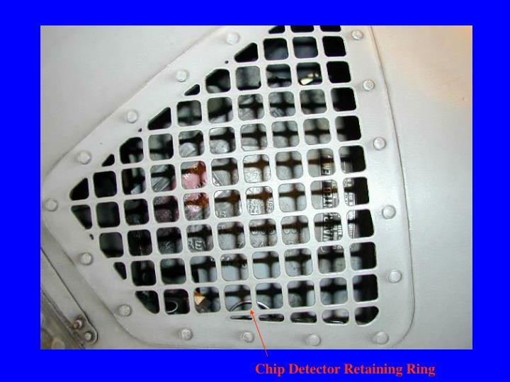 Chip Detector Retaining Ring