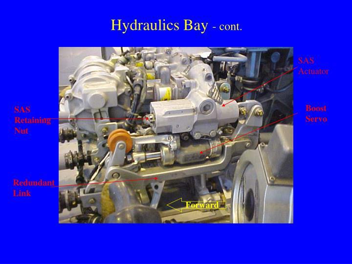 Hydraulics Bay