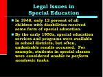 legal issues in special education1