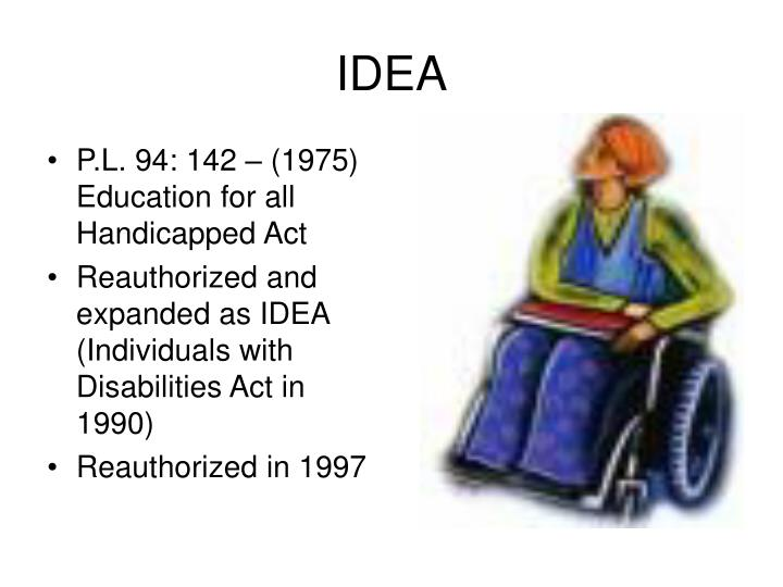 idea individuals with disabilities education act essay