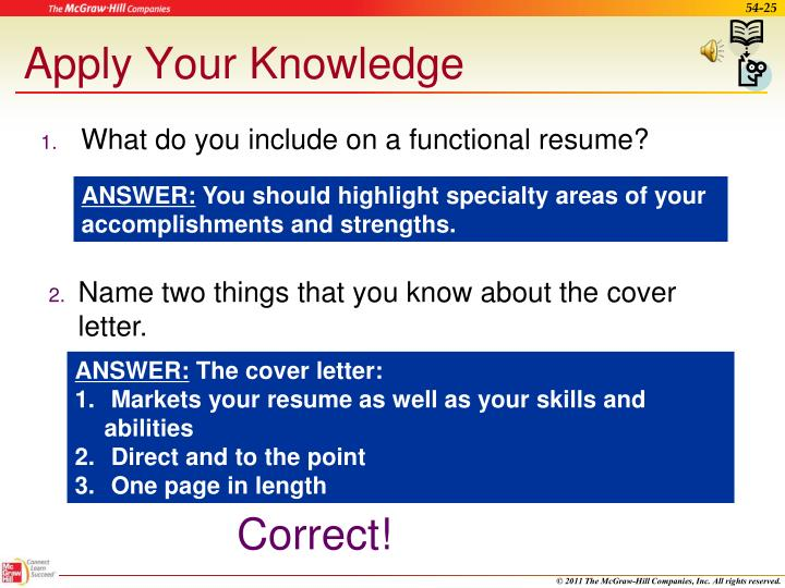 Apply Your Knowledge