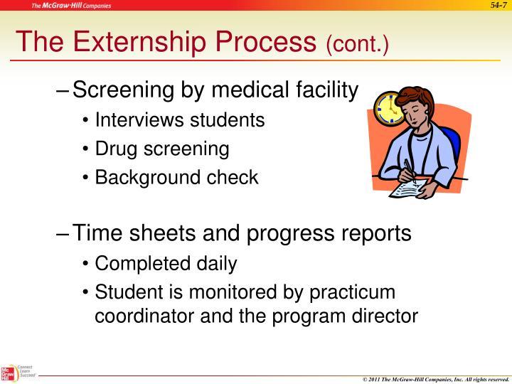 The Externship Process