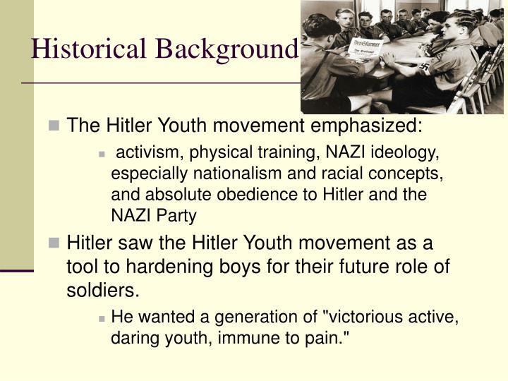 historical background - Hitler Lebenslauf