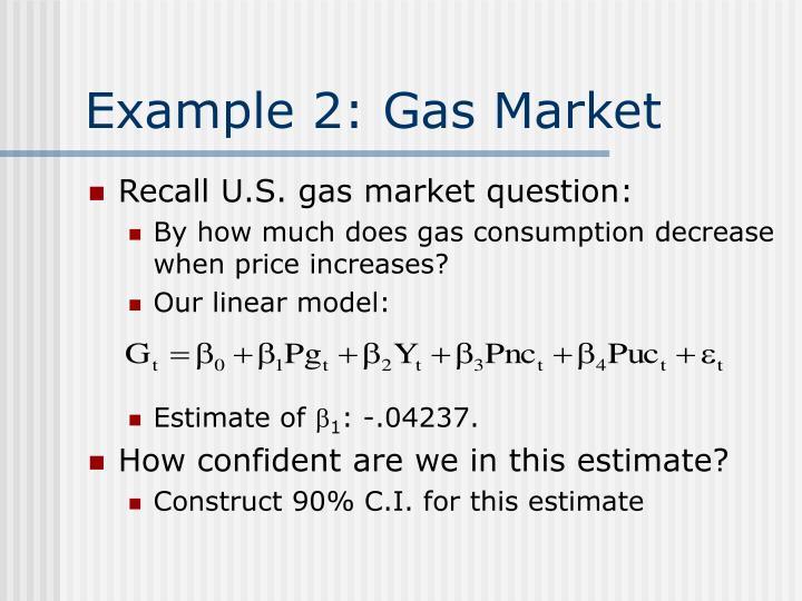 Example 2: Gas Market