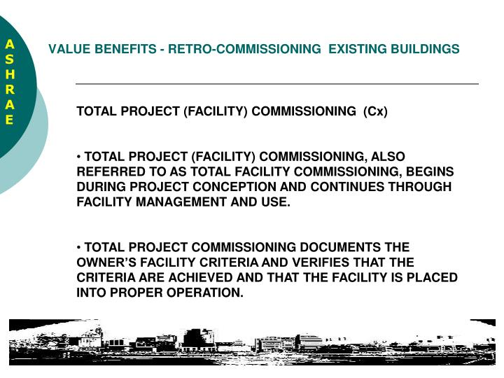 Value benefits retro commissioning existing buildings2