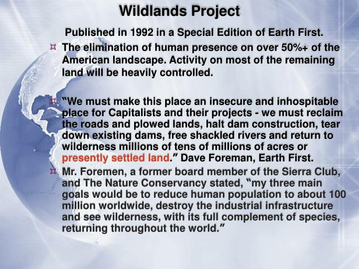 Wildlands Project